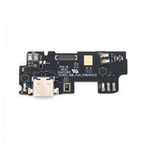 Sub-PCB (USB, Mikrofon, Vibration) für SHIFT6mq
